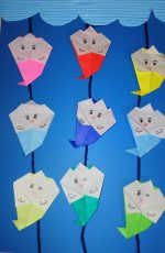 折り紙で子供も簡単なお化け折り方は?かわいい飾り方や作り方も!